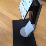 WQHD(2560×1440)ディスプレイで縦置き。モニターアームは必要か?