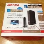 NasneとPC液晶ディスプレイで、テレビを視る。PS3を無線で接続。