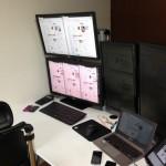 WQHD(2560×1440)の2画面出力、デュアルディスプレイ。グラフィックボードにも注意。