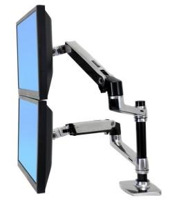 エルゴトロン LX Desk Mount Arm 比較!デュアルモデル「45-248-026」との違い