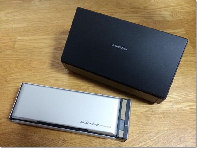 ScanSnap S1300i と iX500を比較レビュー。