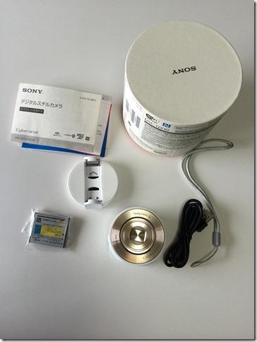 DSC-QX10の付属品