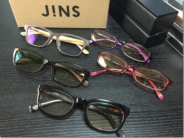 デスクワークにパソコン用メガネは欠かせない。目の疲れ、まぶたの痙攣にJINS PC。