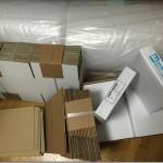 通信販売業者(出品者)が梱包する。必要な梱包資材と梱包費用を安くする方法。