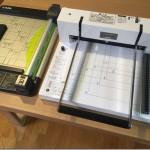 自炊裁断機 Dahle Durodex 200DX比較レビュー。ディスクカッターDC-210Nとの違い。