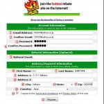 キャッシュバックサイト Mr.Rebates(ミスターリベート)の登録方法。