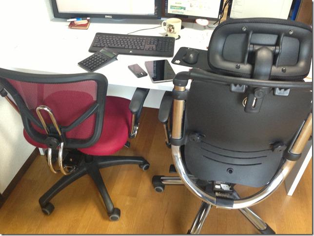 格安オフィスチェア ハラチェアー(HARA Chair)レビュー。ニーチェとムガエの比較。