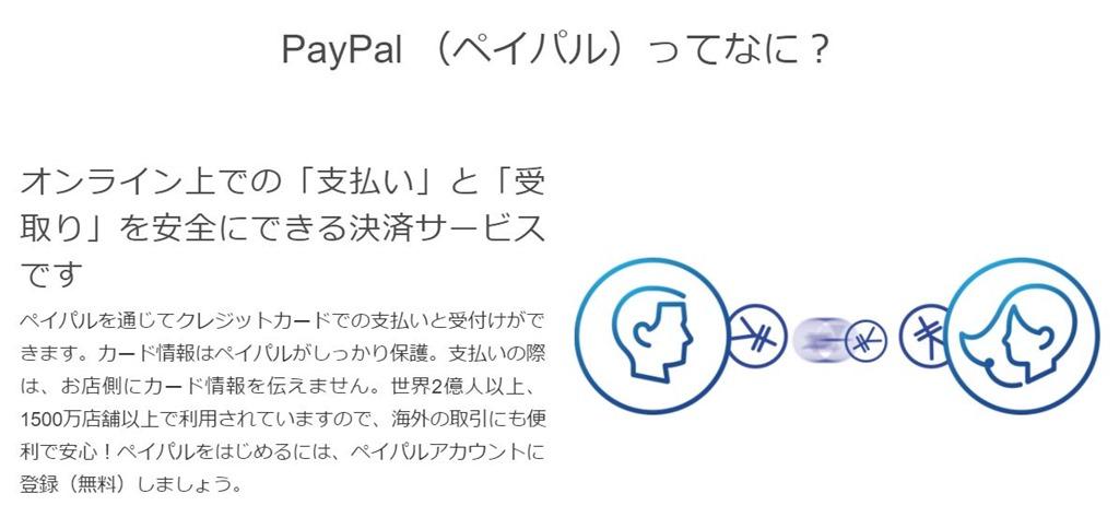 Paypalアカウントの違い