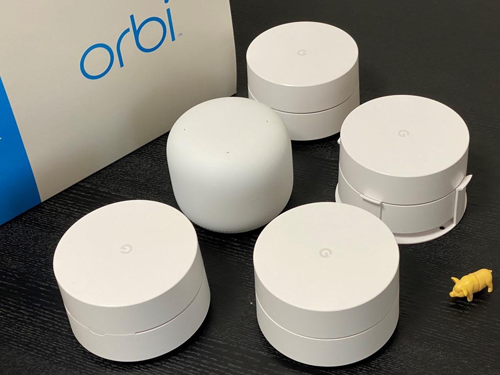 Orbi Wifi6 RBK852レビュー