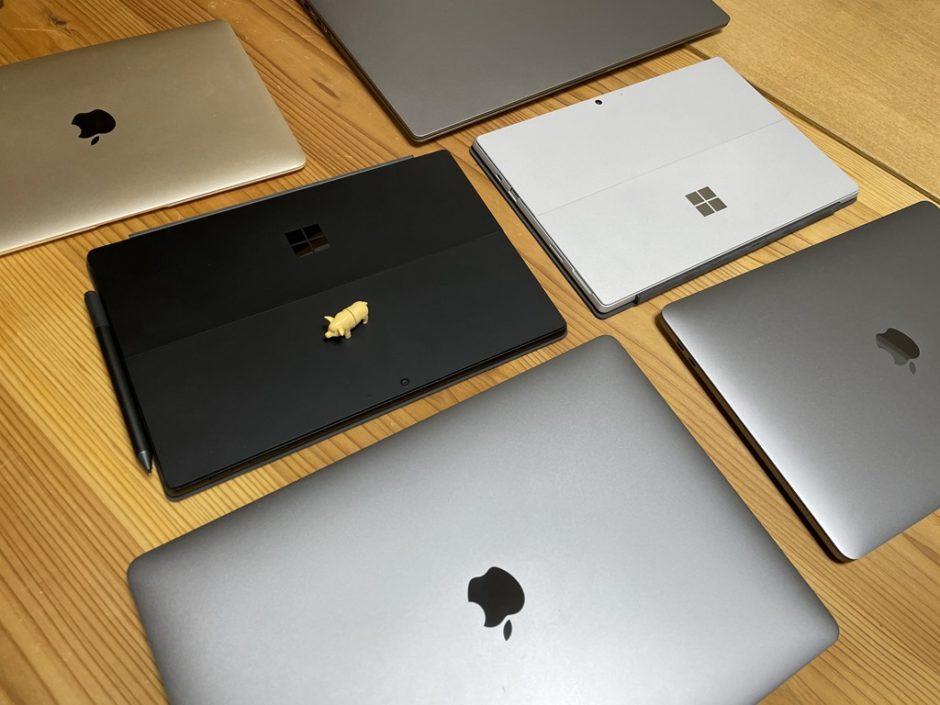 SurfaceとMacの違い